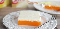 ORANGE LEMONY JELL-O