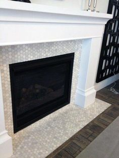 Inconceivable Corner Fireplace Redo Ideas Inconceivable Corner Fireplace Redo Ideas 6 Active Cool Ideas: Fireplace With Tv Above Pictures glass fireplace screen.Fireplace With Tv Exposed Beams. Stone Fireplace Mantel, Fireplace Tile Surround, Simple Fireplace, Fireplace Update, Fireplace Remodel, Fireplace Surrounds, Fireplace Design, Fireplace Ideas, Stone Fireplaces