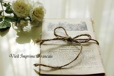 Books アンティークペーパー5枚組フランス古い本洋書100年前の紙 インテリア 雑貨 家具 Antique ¥450yen 〆05月13日