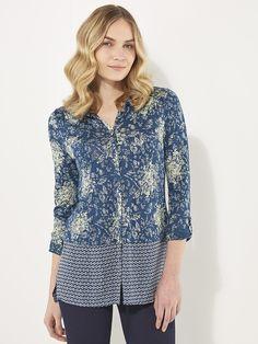 ORIGIN LINEN JERSEY SHIRT | shirts & blouses | White Stuff