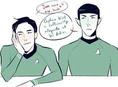 human!Spock vs vulcan!Spock Star Trek Spock, Star Trek Voyager, Star Trek Tos, Wallpaper Star Trek, Wallpaper Collage, Wallpaper Quotes, Uss Enterprise, Star Terk, Star Trek Gifts