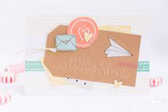 Mehr vom Crop im April 2015 I Cards and layout from our crop in April I #amytangerine