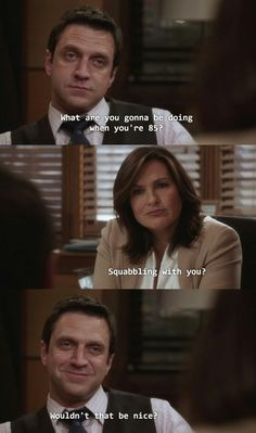 Hands down my favorite Benson and Barba scene! Adorable!