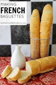 Making French Baguettes by ALittleClaireification for Jellibean Journals #Baguettes #French #Recipe