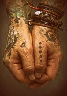 magical tattoos.from the assassins blade