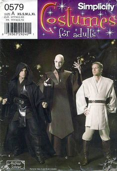 Simplicity 0579 Men's Star Wars Costumes Sewing by retrowithlana