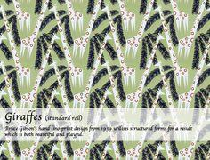 Giraffes Giraffes, Print Design, Archive, Wallpaper, Prints, Beautiful, Home Decor, Fabrics, Decoration Home