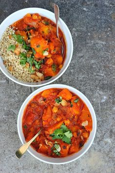 Moroccan Spiced Pumpkin + Chickpea Stew ⎮ happy hearted kitchen