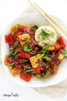 Tofu, Asian Recipes, Ethnic Recipes, Slow Food, Yams, Kung Pao Chicken, Curry, Food And Drink, Chinese
