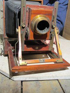 RARE 1909 1912 Thornton Pickard Special Ruby Wooden Field Camera