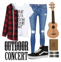 """""""Untitled #19"""" by broken-time on Polyvore featuring Frame Denim, Vans, Vera Bradley, women's clothing, women's fashion, women, female, woman, misses and juniors"""