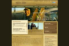 Reck Agri is an agricultural real estate and auction company, buying and selling land in Colorado, Nebraska and Kansas. -- Website by Blue Tent Marketing
