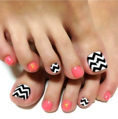 You are looking for nail art for your beautiful toes? Here we show you the amazing list of 35 Simple and Easy Toe Nail Art Design Ideas