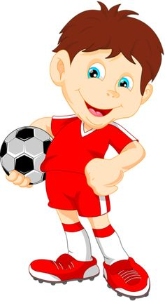 Kid Football Player Cartoon Image H | Šport | Pinterest ...