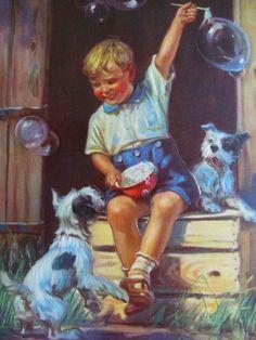 Bubbles ~ Henry Hintermeister