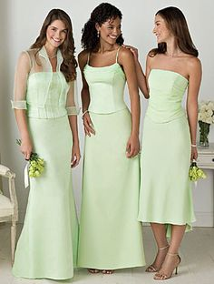 This is the color I'd like for the bride's made dresses to match the wings of the moth and it has a lovely glowing affect. It's called pistachio.