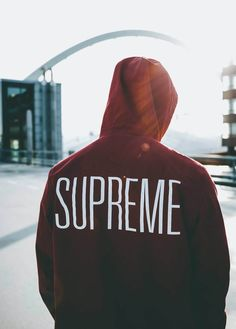 SUPREME Hooded Military Jacket