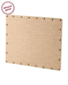 Burlap cork boards on pinterest cork boards corks and for Linen cork board