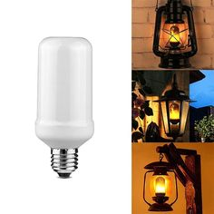 Flickr™ LED Flaming Bulb – Stray Deal