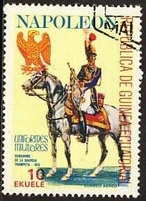 Stamp: Trumpeter of the Gendarmerie (Equatorial Guinea) (Napoleonic Military Uniforms) Mi:GQ 1195,Sn:GQ 77-112,Yt:GQ PA94A