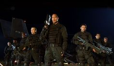 Dwayne Johnson and Karl Urban in Doom The Rock Dwayne Johnson, Rock Johnson, Dwayne The Rock, Doom Movie, I Movie, Ben Daniels, Video Game Movies, 10 Film, Classic Video Games
