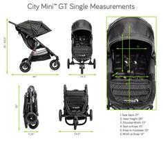 9 Best Stroller Dimension Images In 2016 Baby Jogger