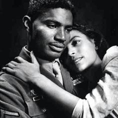 Ossie Davis and Ruby Dee. Beautiful. God rest their souls. They're now reunited.