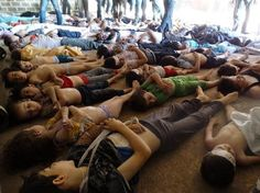 Syria Opposition Claims Hundreds Dead in 'GAS' Attack | SUMAN ENTERPRISES