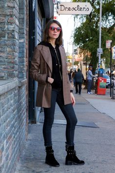 Interview Mag's Julia Gall Wears Menswear, Makes it Look Easy - Man Repeller