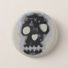 #Skull Button - #Halloween #happyhalloween #festival #party #holiday