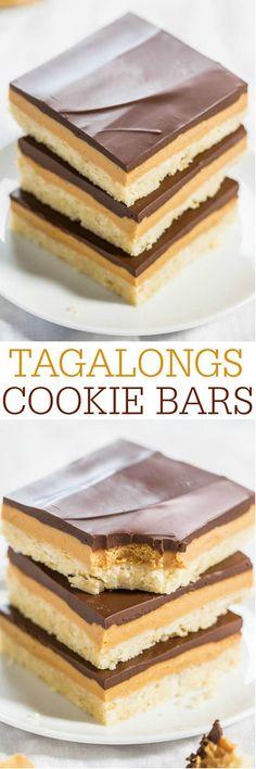 Tagalongs Cookie Bars