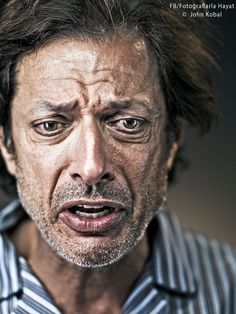 the man with more facial expressions, that just about anyone. This epic Portrait shot by: British photographer Robert Wilson. Foto Face, Eyes Artwork, Face Expressions, Celebrity Portraits, Interesting Faces, Male Face, Famous Faces, Movie Stars, Portrait Photography