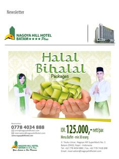 HALAL BIHALAL PACKAGE @Nagoyahillhotel