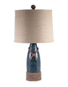 Super cute Blue Buoy Lamp!!