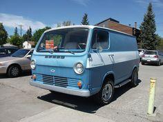 1965 Chevrolet Van with aluminum rims, side pipes and a racing stripe. Chevrolet Van, Grand Vitara, Ambulance, Dodge, Gmc Vans, Vanz, Van Car, Day Van, Malibu