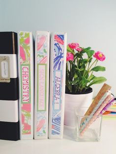 cute diy school supplies :) when are you going back to school after winter break?
