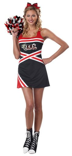 rubies costumes womens glee cheerleader costume from the hit