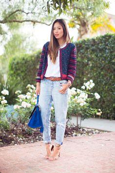 Tapered Boyfriend Jeans