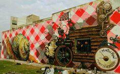 Ron Martin Street Art - Il Carromato Super Star