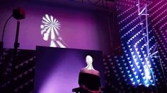 """Live Face Projection Mapping with Kat Von DProjection mapping performance put together by Wildbytes features string quartet and model - full performance in video embedded below: """"First-ever real-time..."""