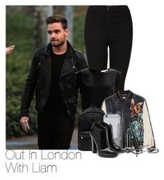 """Liam~#25"" by lauren-beth-owens ❤ liked on Polyvore featuring Payne, Topshop, French Connection, Yves Saint Laurent, Marc Jacobs, maurices and Giuseppe Zanotti"