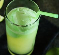 """Yoda Soda: """"Star Wars or not, this is my favorite party punch. I love the blend of flavors and won't use any other."""" -Mysterygirl"""