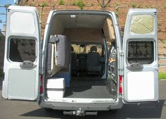 ford transit stealth camper 09 Ford Transit Stealth Camper, I love everything about this!