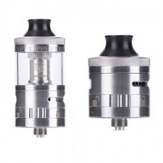 Steam Crave Aromamizer Supreme V2 RDTA has classical velocity-style deck with single coil plugs, easy to build. And also postless build deck for optional, for more space to try different sytle of rebuilding. Also adopts 5ml juice capacity and airflow and juice flow system.
