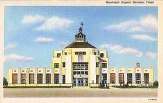 Hobby Airport, Houston, Texas 1940s