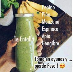 Detox Diet Drinks, Healthy Juice Recipes, Healthy Detox, Healthy Juices, Healthy Smoothies, Healthy Drinks, Healthy Life, Healthy Habbits, Smoothie Diet