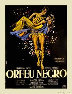 BLACK ORPHEUS French movie poster