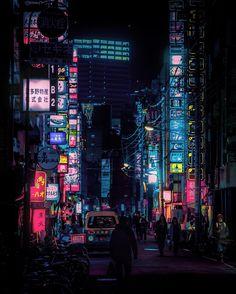 Tokyo Nights: A Different World | Abduzeedo Design Inspiration