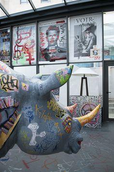 Street Art au New Hotel pour MP2013