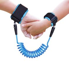 360/°Rotate Security Elastic Wire Rope for Baby and Toddler Reins Orange 2.5M Anti Lost Wrist Link Belt Safety Leash Wristband//Hand Harness for Walking and Travel Outside